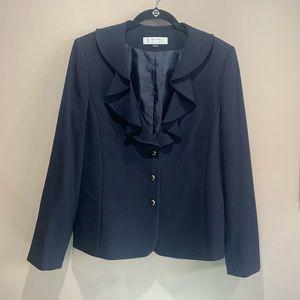TAHARI navy blue blazer
